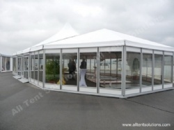 15m Width Mixed Tent with Multi-sided Bay and High Peak Bay