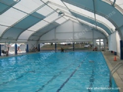 Swimming Pool Curved Marquee Tent for High Class Event Activities