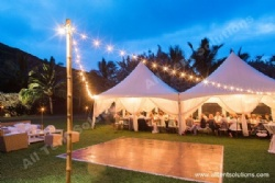 Outdoor String Light for Garden Party Tent