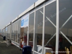 Clear Glass Wall for Party Event Tent Hall