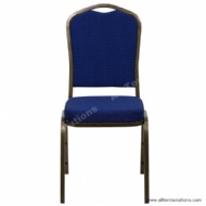 Blue Banquet Chair in Quality Metal